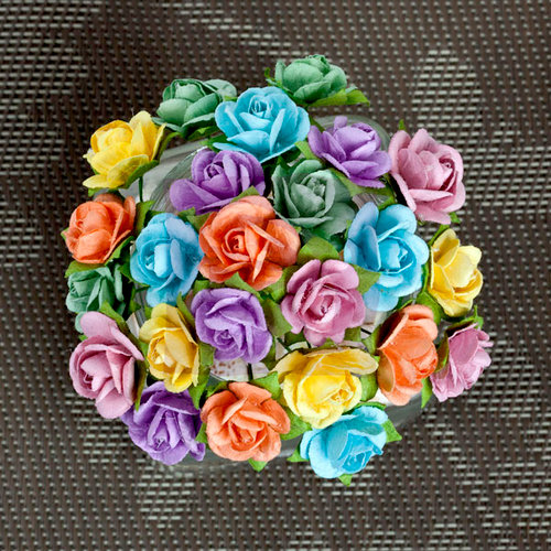 Prima - Mini Sachet Collection - Flower Embellishments - Spring