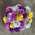 Prima - Mini Sachet Collection - Flower Embellishments - Pansy