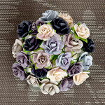 Prima - Mini Sachet Collection - Flower Embellishments - Winter
