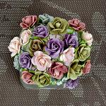 Prima - Mini Sachet Collection - Flower Embellishments - Meadow