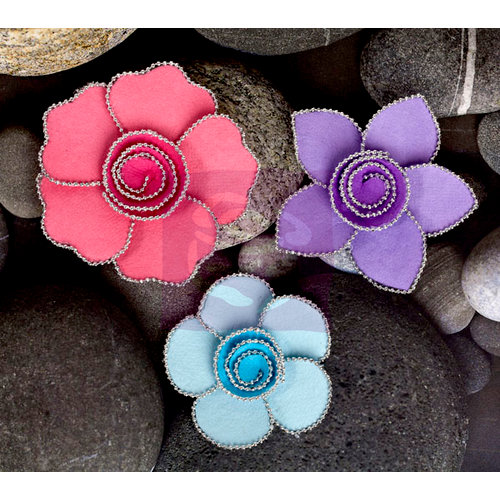 Prima - Queen Mary Collection - Flower Embellishments - Prism