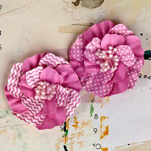Prima - Ascot Park Collection - Flower Embellishments - Carnation