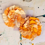 Prima - Ascot Park Collection - Flower Embellishments - Goldenrod