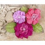 Prima - Paquita Collection - Flower Embellishments - Azelea