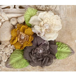 Prima - Paquita Collection - Flower Embellishments - Woodland