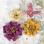 Prima - Flower Embellishments - Troika Plum
