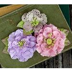 Prima - Tiara Collection - Flower Embellishments - Sugarplum