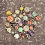 Prima - School Memories Collection - Metal Brads