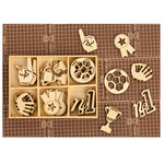 Prima - Allstar Collection - Wood Icons in a Box