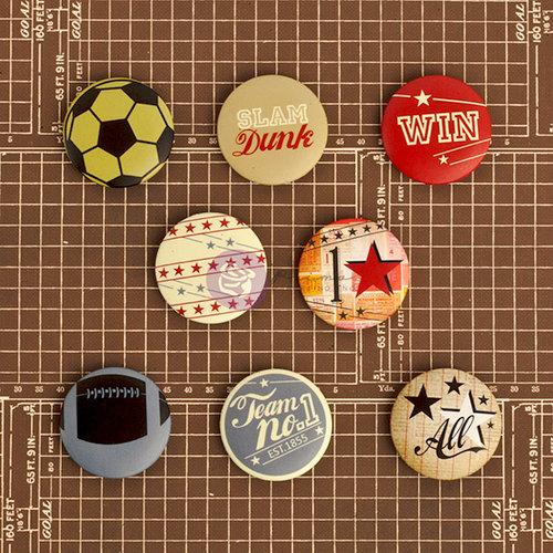 Prima - Allstar Collection - Flair Buttons