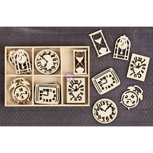 Prima - Wood Icons in a Box - Clocks