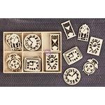 Prima - Wood Icons in a Box - Clocks