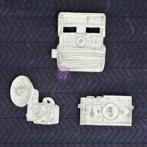Prima - Resin Collection - Resin Embellishments - Cameras