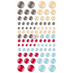 Prima - Everyday Vintage Collection - Sugar Enamel Dots