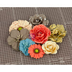Prima - Allstar Collection - Flower Embellishments - Two