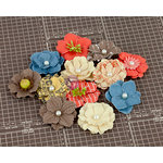 Prima - Allstar Collection - Flower Embellishments - Three