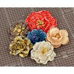 Prima - Allstar Collection - Flower Embellishments - Four