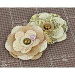 Prima - Allstar Collection - Flower Embellishments - Seven