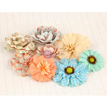 Prima - Delight Collection - Flower Embellishments - Three