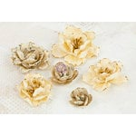 Prima - Bellas Collection - Flower Embellishments - Three