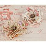 Prima - Clara Collection - Flower Embellishments - 1