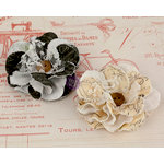 Prima - Clara Collection - Flower Embellishments - 3