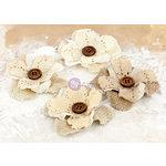 Prima - La Tela Collection - Flower Embellishments - 4