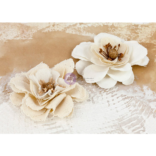 Prima - La Tela Collection - Flower Embellishments - 8