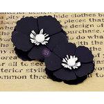 Prima - La Tiza Collection - Chalk Board Flower Embellishments - 3