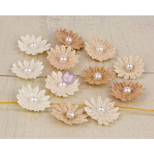 Prima - Perla Collection - Flower Embellishments - Four