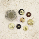 Prima - Time Travelers Memories Collection - Flair Buttons