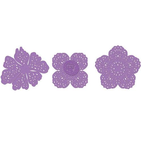 Prima - Metal Dies - Flowers - Set of Three