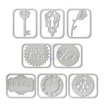 Prima - Time Travelers Memories Collection - Metal Paper Clips