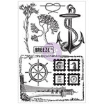 Prima - Seashore Collection - Cling Mounted Stamps - Sea Shore