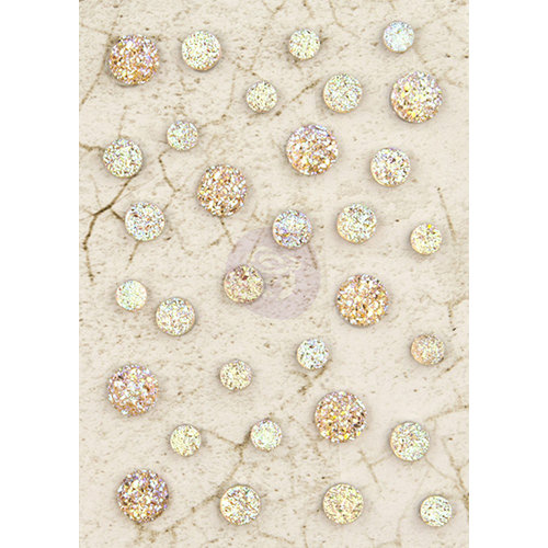 Prima - Time Travelers Memories Collection - Say It In Crystals - Self Adhesive Jewel Art - Bling