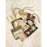 Prima - Time Travelers Memories Collection - Tag Me - Ticket and Tag Set