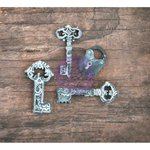 Prima - Resin Collection - Resin Icons in Wood Box - Keys