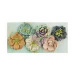 Prima - Seashore Collection - Flower Embellishments - Sand Dollar