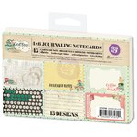 Prima - Coffee Break Collection - 4 x 6 Journaling Cards