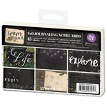 Prima - Forever Green Collection - 4 x 6 Journaling Cards