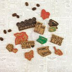 Prima - Coffee Break Collection - Cork Stickers