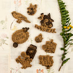 Prima - Forever Green Collection - Cork Stickers