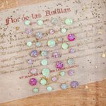 Prima - Cigar Box Secrets Collection - Say It In Crystals - Self Adhesive Jewels