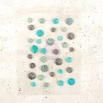 Prima - Epiphany Collection - Say It In Crystals - Self Adhesive Jewels