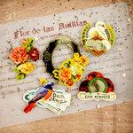 Prima - Cigar Box Secrets Collection - 3 Dimensional Stickers