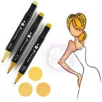 Prima - Mixed Media - Markers - Prima Palette Set - Blonde
