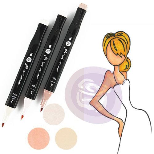 Prima - Mixed Media - Markers - Prima Palette Set - Light Skin