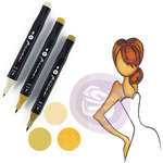 Prima - Mixed Media - Markers - Prima Palette Set - Medium Skin