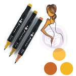Prima - Mixed Media - Markers - Prima Palette Set - Dark Skin