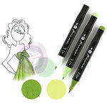 Prima - Mixed Media - Markers - Prima Palette Set - Emerald